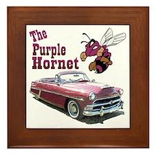 purplehornet-10 Framed Tile