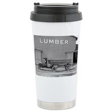 Early Ford Tractor Trailer Travel Mug