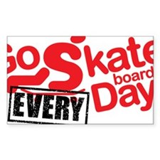 go skateboarding every day sta Decal