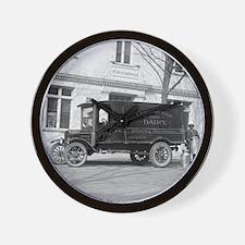 Lewinsville Dairy Truck Wall Clock
