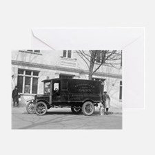 Lewinsville Dairy Truck Greeting Card
