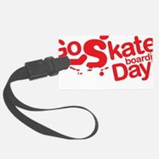 go skateboarding every day pen d Luggage Tag