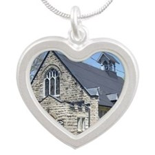 stalbanthemartyr Silver Heart Necklace