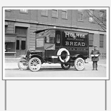 Holmes Bakery Delivery Truck Yard Sign