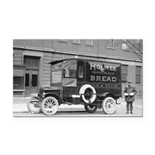 Holmes Bakery Delivery Truck Rectangle Car Magnet