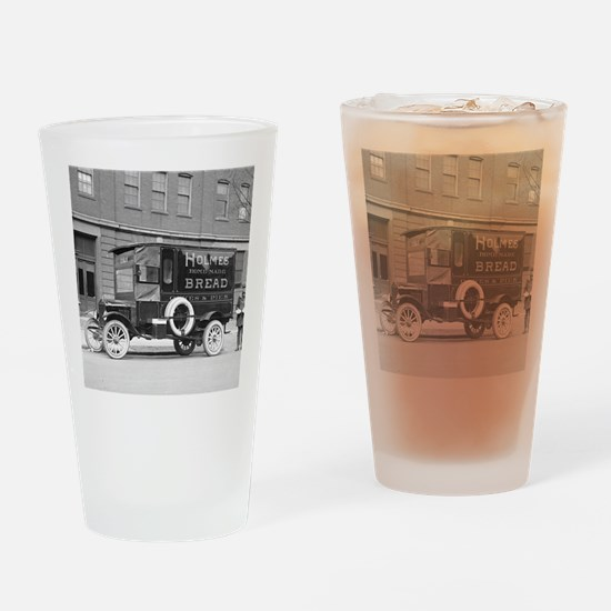 Holmes Bakery Delivery Truck Drinking Glass
