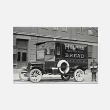 Holmes Bakery Delivery Truck Rectangle Magnet