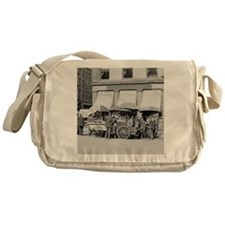 New York City Lunch Carts Messenger Bag