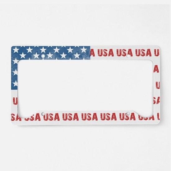 ONE NATION UNDER GOD License Plate Holder