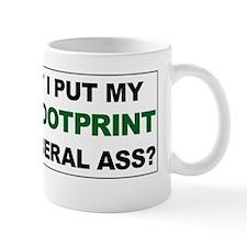 Carbon Footprint Small Mug