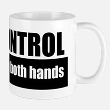 gun control two hands Mug