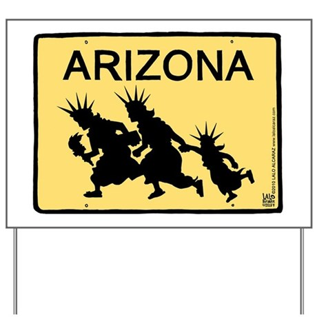 ArizonaLibertyCafepress Yard Sign
