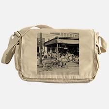 New Orleans French Market Messenger Bag