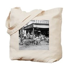 New Orleans French Market Tote Bag