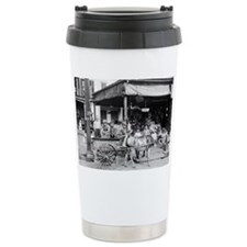 New Orleans French Market Travel Mug