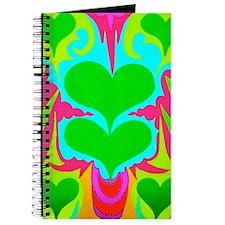 BFB Angel Hearts Light GreenLight Blue 23x Journal