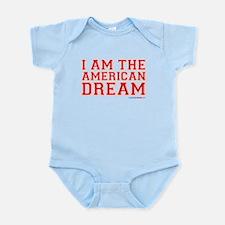 I Am The American Dream Infant Bodysuit