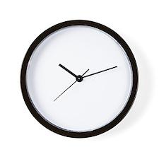 Respect the stache 2 Wall Clock