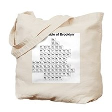 2-periodictable_brooklyn Tote Bag