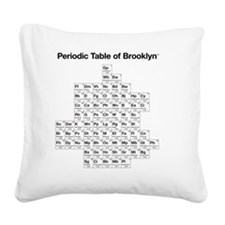 2-periodictable_brooklyn Square Canvas Pillow