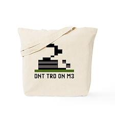 Pixel-Txt--Dont-Tread-On-Me-6239x4167_tra Tote Bag
