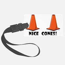 nice-cones-1 Luggage Tag