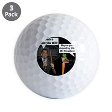 stick_carrot Golf Ball