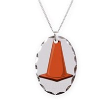 cone-hat-1t Necklace