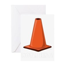 cone-hat-1t Greeting Card