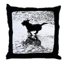 Billie Beach 2 Throw Pillow