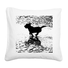 Billie Beach 2 Square Canvas Pillow
