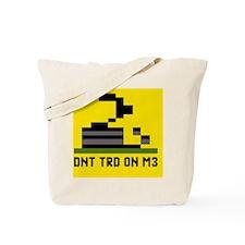 3-Pixel-Txt--Dont-Tread-On-Me-6239x4167 Tote Bag