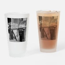The Five Cent Restaurant Drinking Glass