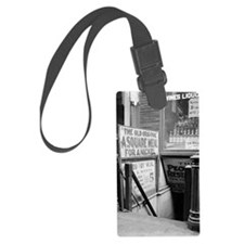 The Five Cent Restaurant Luggage Tag