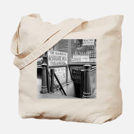 The Five Cent Restaurant Tote Bag