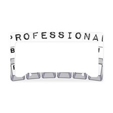 button_pusher License Plate Holder