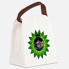 EarthOilBPShirt Canvas Lunch Bag