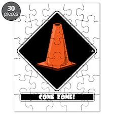 cone-zone-dmnd-bk Puzzle