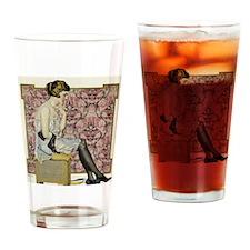 HOLEPROOF HOSIERY, 1921 Drinking Glass