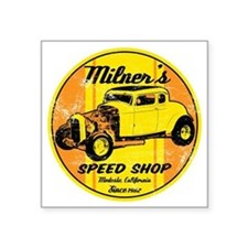 "Milners Square Sticker 3"" x 3"""