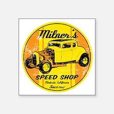 "Milners Square Sticker 3"" x 3"""