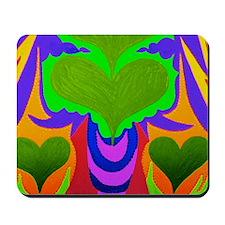 2-BFB Angel Hearts Light GreenLight Gree Mousepad