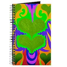 BFB Angel Hearts Light GreenLight Green 23 Journal