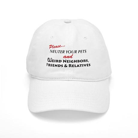 Neuter Your Pets Cap