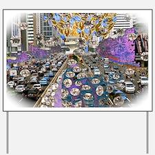 victor-angelo_city Yard Sign