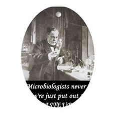 3-Pasteur3 Oval Ornament