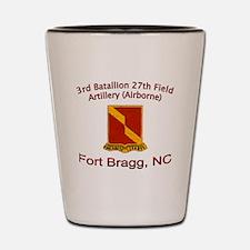 3rd Bn 27th FA Shot Glass