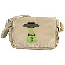 Beam Me Up Messenger Bag