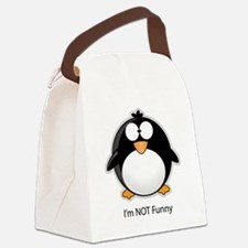 penguine Canvas Lunch Bag
