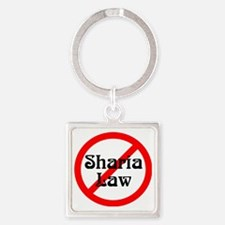 no-sharia-law Square Keychain